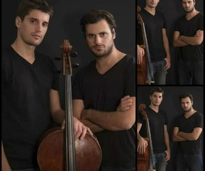 cello, photoshoot, and luka sulic image