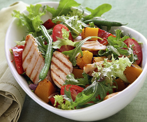 bell pepper, Chicken, and healthy eating image