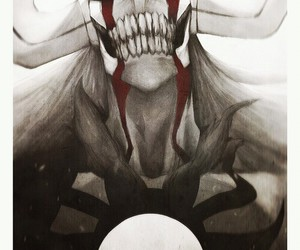 bleach, anime, and hollow image