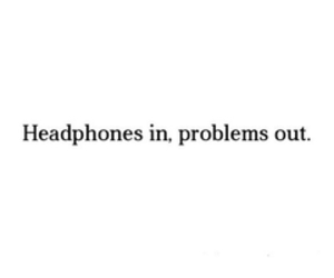 music, headphones, and problem image