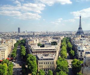 buildings, paris, and travel image