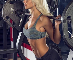 abs, fitness, and nike pro image