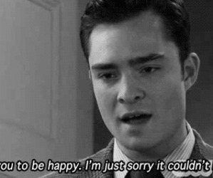 chuck bass, gossip girl, and happy image