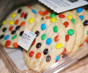 Cookies, m&m's, and cute image