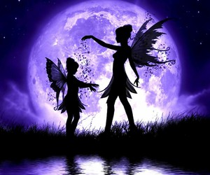 fairy and moon image