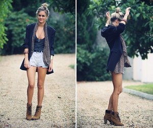 animal print, boots, and fashion image