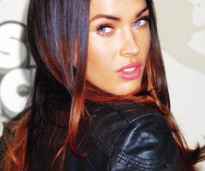 megan fox, beautiful, and eyes image