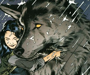 art, snowwhite, and wolf image