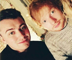 sam smith and ed sheeran image