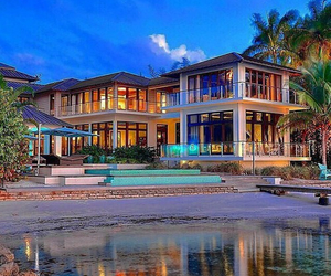 house, luxury, and colors image