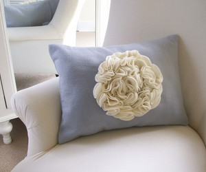 inspiration, pillow, and ruffles image