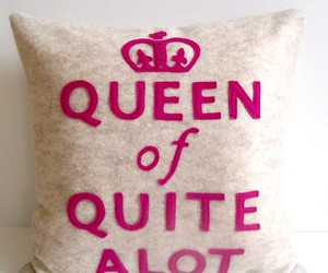inspiration, pillow, and Queen image