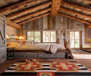 cottage, bedroom, and interior design image