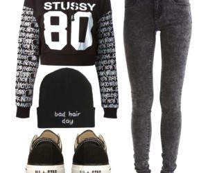 all star, black, and fashion image