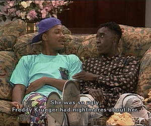 funny, will smith, and fresh prince of bel air image