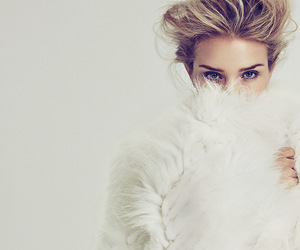 model, rosie huntington-whiteley, and white image