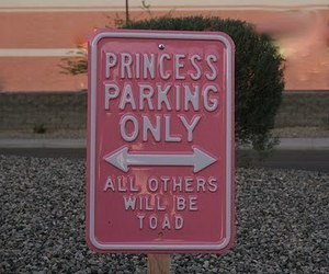 parking, sign, and cute image