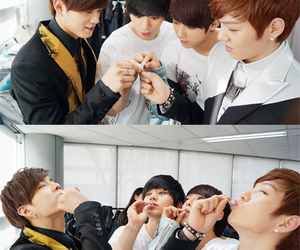 btob, minhyuk, and sungjae image
