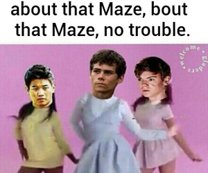 dylan o'brien, funny, and Minho image