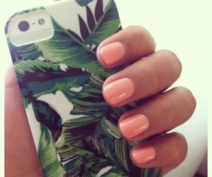 case, nails, and white image