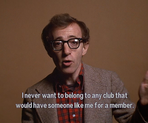 club, film, and quote image