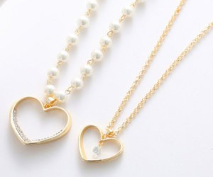 beautiful, necklace, and cute image