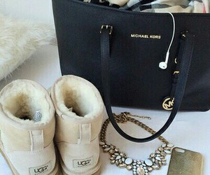 bag, beauty, and Michael Kors image