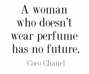 perfume, coco chanel, and woman image