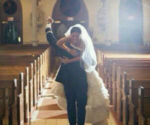 bride, design, and dress image
