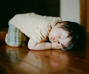 kids, cute, and nap image