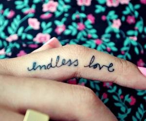 amor, girl tattoo, and endless love image