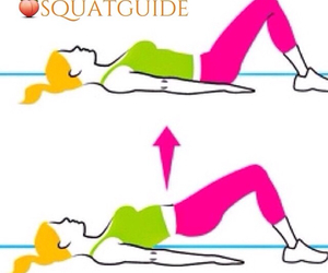 body, fitness, and squat image