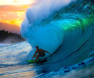 surf, waves, and ocean image