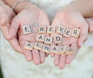 always, couple, and ring image