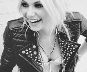 Taylor Momsen, smile, and blonde image