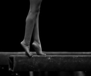 balance, ballet, and dance image