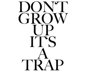 quote, trap, and text image