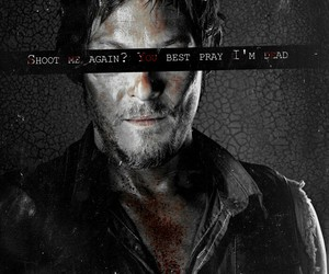 the walking dead, norman reedus, and daryl image
