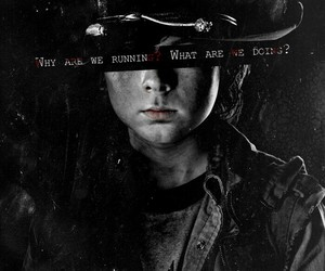 the walking dead, carl, and twd image