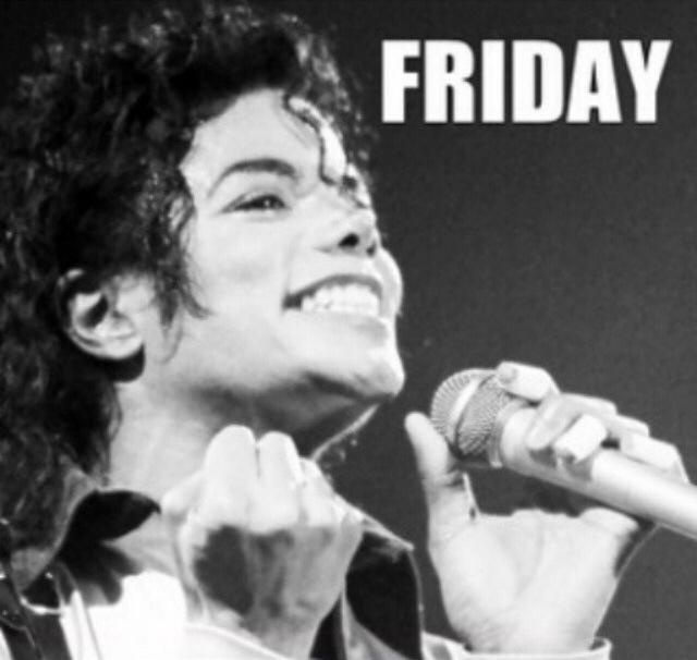 Youpi, it's friday ! Michael Jackson ! on We Heart It
