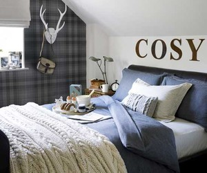 bedroom and cosy image