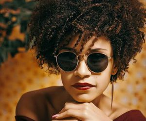 Afro, curls, and hair image