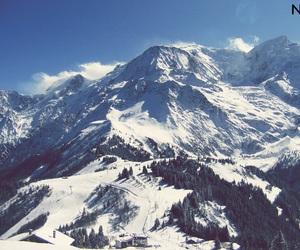 blue, montagne, and ski image