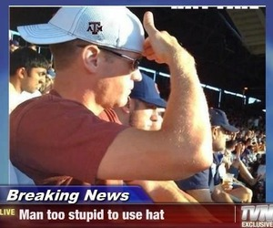 funny, lol, and hat image
