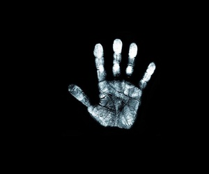handprint and hand image