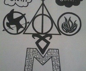 harry potter, way, and the mortal instruments image
