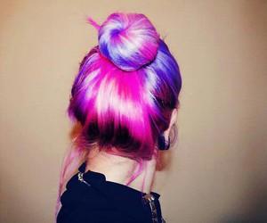 fashion, violet, and girl image