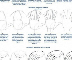 dibujo, manos, and how to draw image