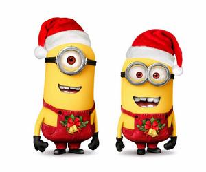minions and christmas image