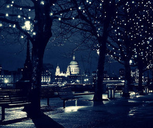city, lights, and park image